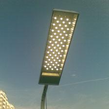 производство установка светодиодных ламп